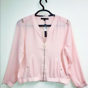 NEW Harve Benard Women's Soft Pink Jacket Size L